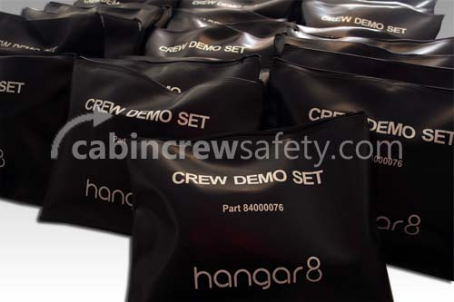Customisable Flight Attendant Cabin Safety Demonstration Kits fo Sale