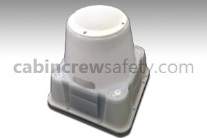 81000003 - Cabin Crew Safety Portable Fire Light And Sound Effect Unit
