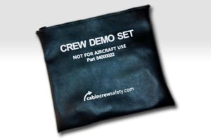 81000004 - Cabin Crew Safety Crew Attendant Safety Demo Pouch (Customised)