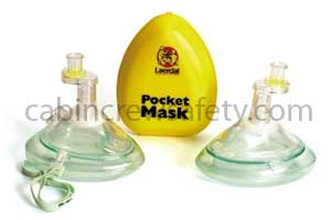 83001133 - Laerdal CPR Pocket Mask With O2 Inlet
