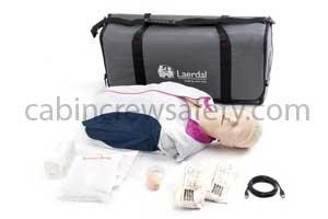 171-00150 - Laerdal Resusci Anne QCPR Manikin Torso In Carry Bag