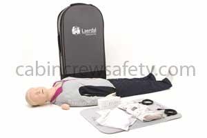171-01250 - Laerdal Resusci Anne QCPR Full Body In Trolley Case