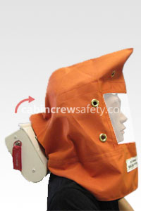 802300-14 - Cabin Crew Safety Scott Avox Style Training PBE Smoke Hood
