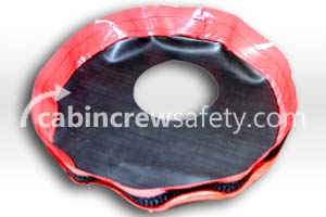 6412-001 - Cabin Crew Safety Training PBE Smoke Hood Non Allergenic Neck Seal