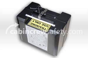 6423-300 - Cabin Crew Safety Training PBE Smoke Hood Box (Drager)