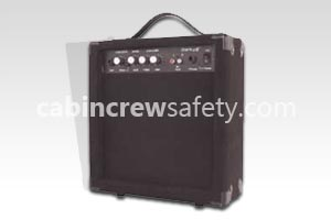 82000026 - Cabin Crew Safety 20Watt Mobile Amplifer For PA Training