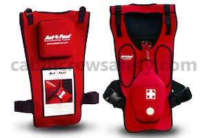 AF-101-R - Act Fast Anti Choking Trainer With Backslap RED