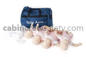 050010 - Laerdal Baby Anne CPR Manikin Four Pack
