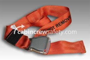 501848-401-1849 - AMSAFE Passenger Loop Extension Belt Assembly - Orange