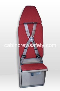 84000012 - Cabin Crew Safety Airbus A310 Single Attendant Crew Seat