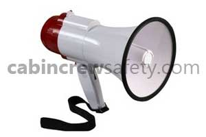 82000016 - Cabin Crew Safety Training Cabin Emergency Megaphone