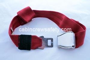 503585-461-8005 - AMSAFE Passenger Seat Safety Belt Red