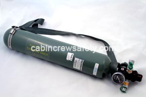 POCA (Portable Oxygen Cylinder Assembly) from cabincrewsafety.com