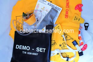 84000022 - Cabin Crew Safety Passenger Safety Briefing Kit For Training Use
