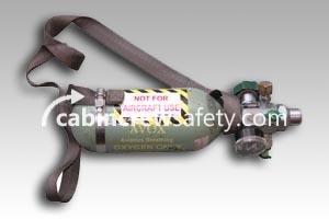 5500A1ABF23A - AVOX Small Portable Oxygen Bottle
