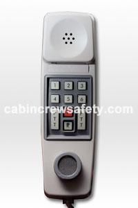 84000033 - Cabin Crew Safety Boeing 747 Cabin PA Interphone Handset