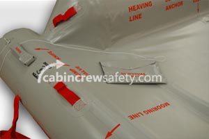84000039 - Cabin Crew Safety Airbus A320 Training Slide Raft
