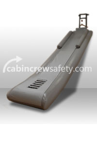 84000040 - Cabin Crew Safety Airbus A320 Single Evacuation Training Slide