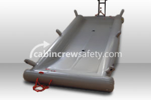 84000041 - Cabin Crew Safety Airbus A320 Double Evacuation Training Slide