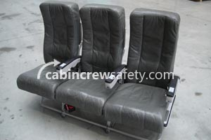 84000059 - Cabin Crew Safety Airbus A320 Triple PAX Leather Seats
