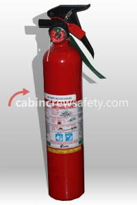 898052 - Kidde Aerospace Aircraft BCF Halon Fire Extinguisher