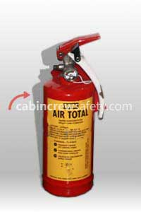 TOTAL 74-20 - Air Total Aircraft BCF Halon Fire Extinguisher