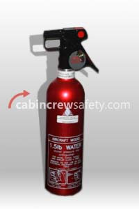 BA61016WG - FFE Aircraft Water Fire Extinguisher