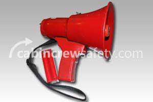 A12SA - Federal Signal Voice Gun A12AS Red Crew Megaphone
