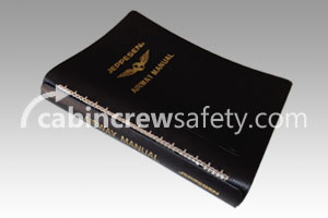 AM621135 - Jeppesen Airway Manual Leather Binder 1 Inch