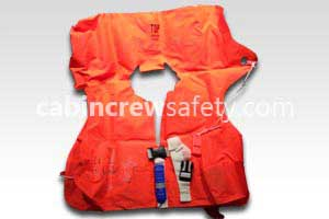 63600-501 - Air Cruisers Double Chamber Crew Life Preserver