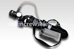 K34451 - Kidde Aerospace 120 Litre Oxygen Bottle