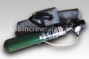 WKA36692 - Walter Kidde 120 Litre Portable Oxygen Cylinder