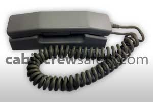 89-01-07042 - Holmberg Airbus A340 Cabin Interphone PA Handset