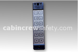 84000146 - Cabin Crew Safety Airbus Style Flight Deck Access Keypad FDAS