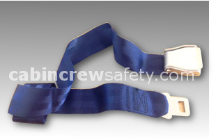 502761-411-2428 - AMSAFE Passenger Extension Belt - Blue