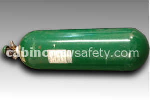 801307-00 - AVOX Breathing Oxygen Cylinder Assembly 310ltr