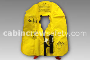 P01074-101 - EAM Eastern Aero Marine XF35 Double Cell Passenger Life Vest