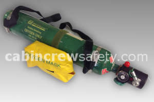3552AAADAACXCD - AVOX AVOX Portable Oxygen Cylinder 3552 Series