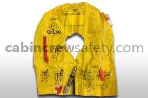 P01202-201W - Eastern Aero Marine UXF 35 Single Cell Passenger Life Vest