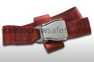 1027-2-011-8061 - AMSAFE Passenger Extension Belt Assembly Terracotta