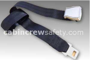 2010-5-011-2251 - AMSAFE Passenger Loop Extension Belt Assembly - Black
