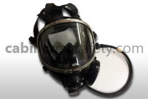 10100D - Scott Full Face Oxygen Demand Mask Assembly