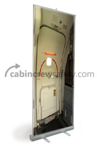 86000012 - Cabin Crew Safety Boeing 737NG Door L1 Touch Training Pop Stand