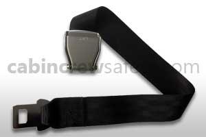 1027-1-011-2396 - AMSAFE Safety Belt Extension Black