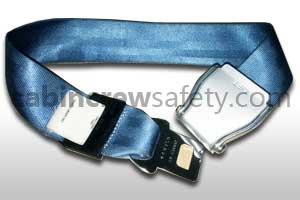 1027-2-011-8002 - AMSAFE Passenger Loop Extension Belt Assembly Light Blue